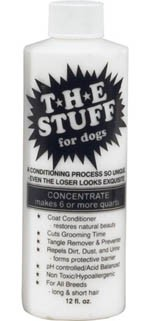 The Stuff for dogs Concentrated Conditioner & Detangler