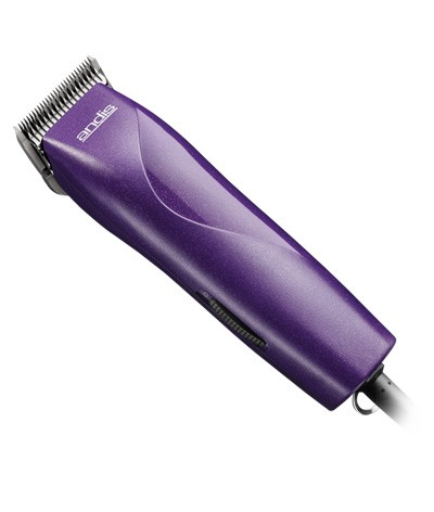 Andis EasyClip Groom Detachable Blade Clipper Kit Model MBG-2 Purple 65785