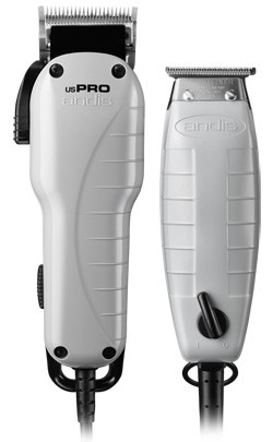 Andis 66495 Professional Barber Combo US-1 / G-I T-Outliner