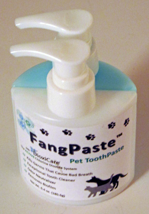 Fang Paste two part Pet Toothpaste