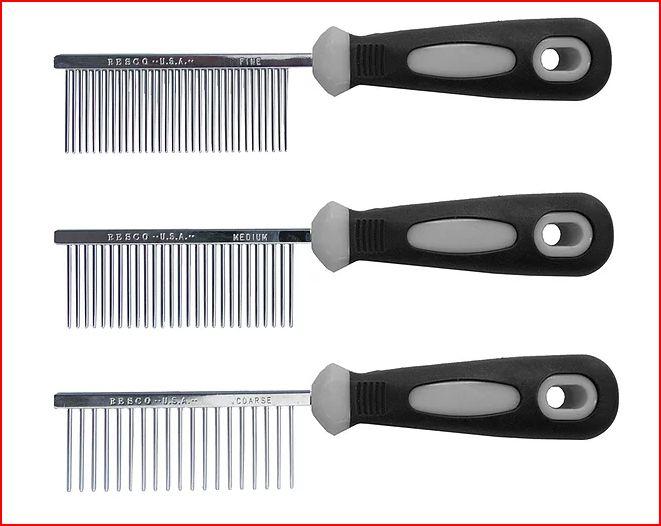 Resco Combs Coarse Medium and Fine