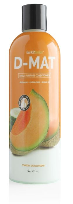 Bark 2 Basics D-Mat All Coat Conditioner with Anti-Stat, Midwest Grooming Supplies & Service
