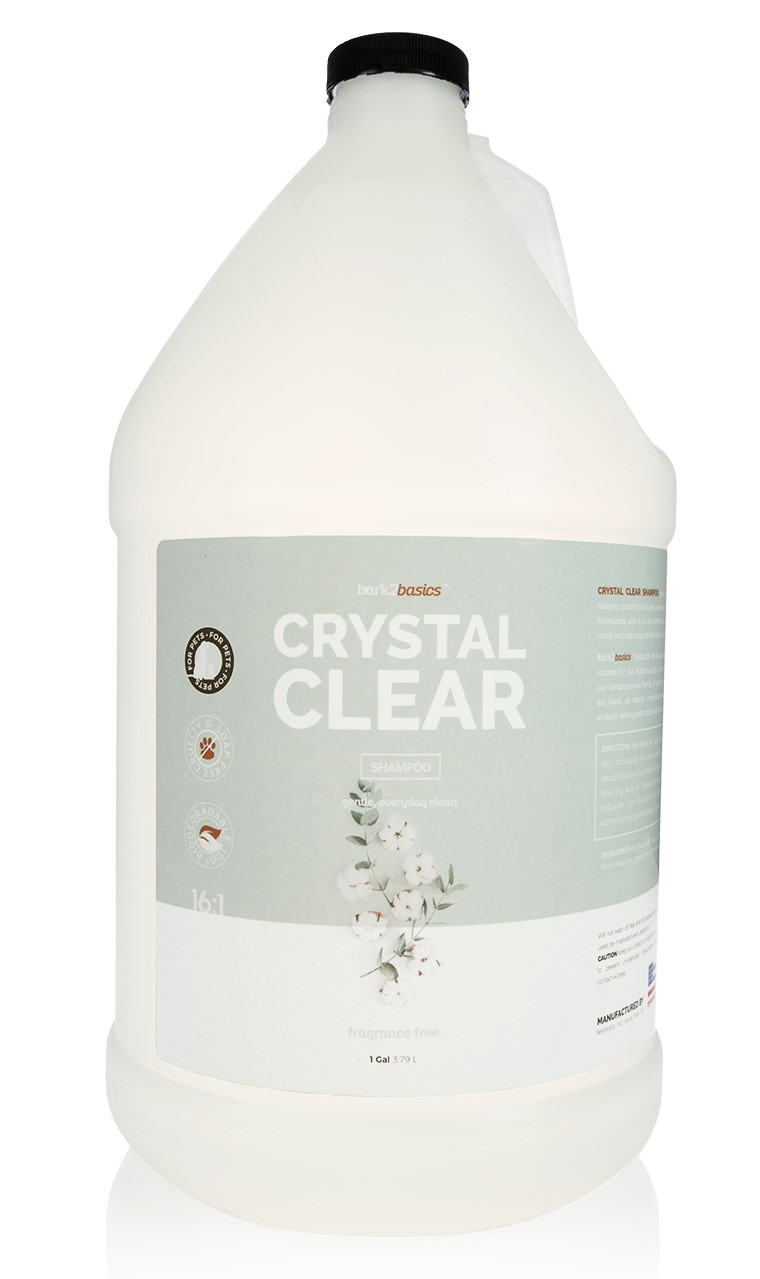 Bark to Basics Crystal Clear Pet Shampoo, Midwest Grooming Supplies & Service