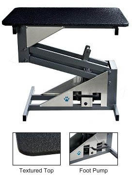 Groomers Best Hydraulic Grooming Table, Midwest Grooming Supplies