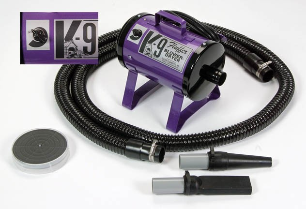 K-9 Fluffer Electric Cleaner Company Variable Speed Forced Air Dryer