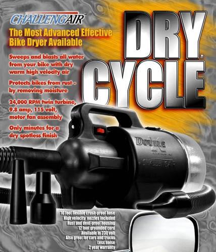 Double K Drycycle Motorcycle Bike Dryer