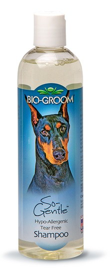 Bio-Groom So Gentle Hypo Allergenic Tearless shampoo 12 ounce