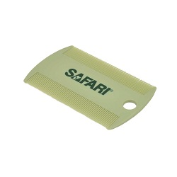 Safari Plastic Double Sided Flea Comb