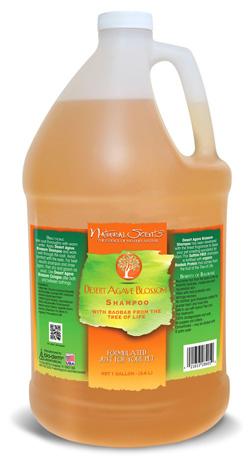 Desert Agave Blossom Natural Scents Shampoo Bio-Groom
