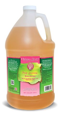Pink Jasmine Natural Scents Shampoo Bio-Groom