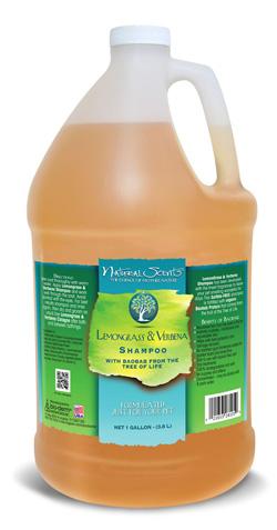Lemongrass & Verbena Natural Scents Shampoo Bio-Groom