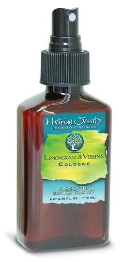Lemongrass & Verbena Cologne Natural Scents Bio-Groom