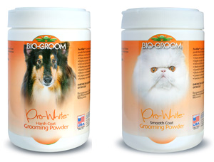 Pro White Grooming Powder Smooth Bio-Groom