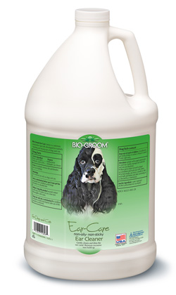 Ear Care Cleaner & Wax Remover Bio-Groom gallon, 8 ounce, 4 ounce
