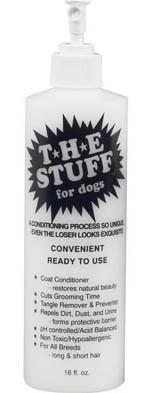 The Stuff Conditioner & Detangler 16 oz. Ready to use spray