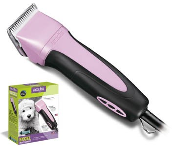 Andis Excel Variable 5 Speed Model SMC Clipper Pink
