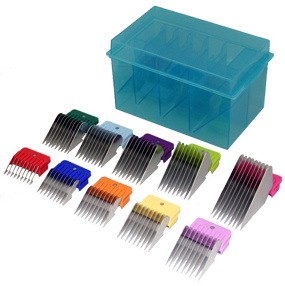 Oster Stainless Steel Snap-On Attachment Comb Kit