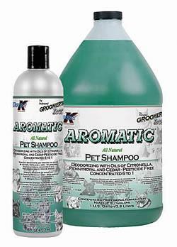 Aromatic Deodorizing Shampoo Groomer's Edge
