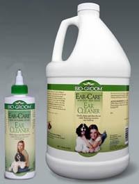 Ear Care Cleaner & Wax Remover Bio-Groom gallon, 8 ounce, 4 ounce