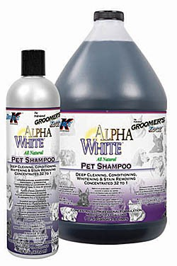 Alpha White Shampoo Groomer's Edge